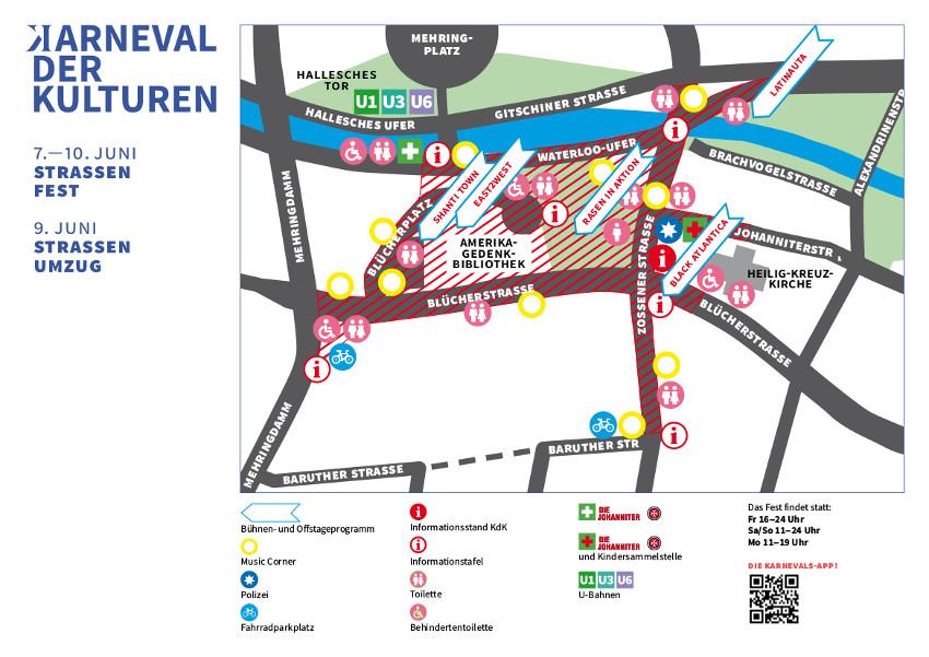 Lageplan Fest